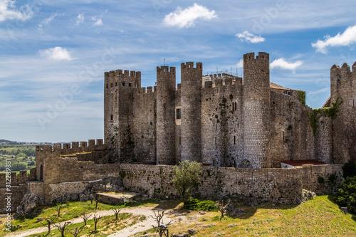 obi doss town in portugal Fototapet