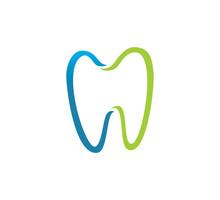 Dental Tooth Vector Logo Conce...