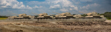 A Troop Of Tanks Rushing On A ...