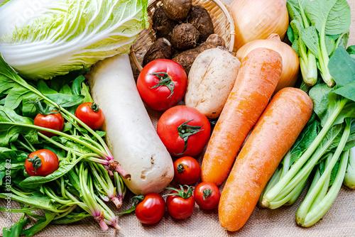Fototapeta 新鮮野菜 obraz