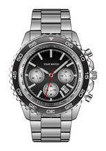 Realistic Wristwatch Steel Bla...