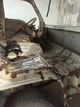 Disassembled Interior Of A Tru...