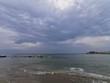 waves on beach in rimini riccione italy