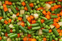 Background Of Mixed Food Raw C...