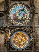 Astronomical Clock On Old Town Hall Of Prague