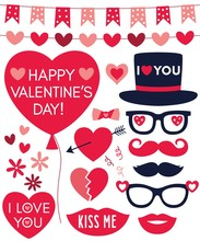 Valentines Day Vector Vector Clip Art Decoration