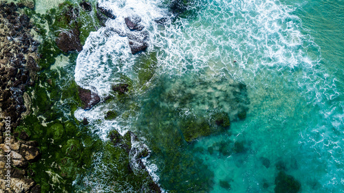 Photo Aerial View next to Bondy Beach near Sydney