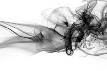 Toxic Fumes Movement On White ...