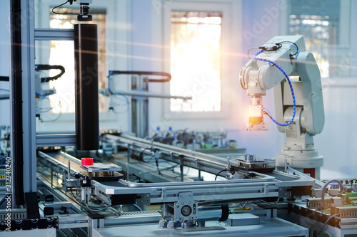 Industry 4 Canvas Print