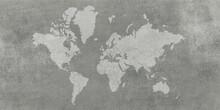 World Map Vintage Background