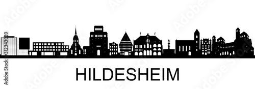 Tablou Canvas Hildesheim Skyline