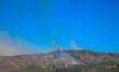 Verheerender Rauch in Napa Valley, Kalifornien