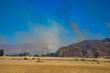 Flächenbrand in den Bergenvon Napa Valley, Kalifornien