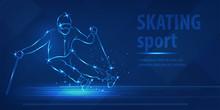 Skiing Speed Race Skating Spor...