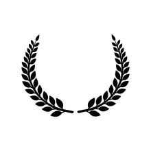 Circular Laurel Foliate Vector...