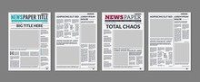 Newspaper Column. Printed Shee...