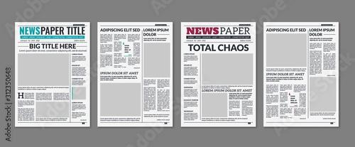 Photo Newspaper column
