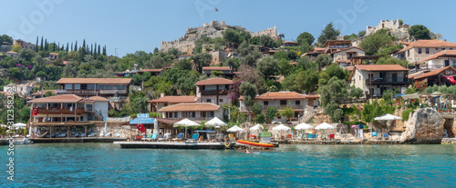 Photo Turkish Lycian City of Kale