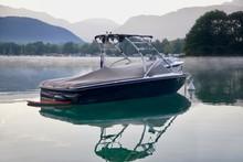 Yacht Boat In The Sea Lake Wak...