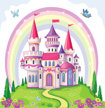Fairy-tale Castle For Princess...