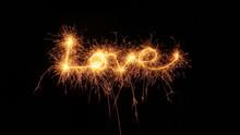 Love, Liebe Geschrieben Mit Ei...