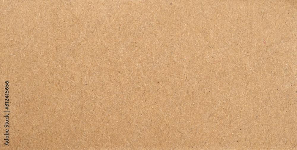 Fototapeta brown cardboard texture background