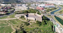 Aerial Orbit Of Historic Castl...