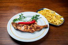 Grilled Chicken With Paprika A...