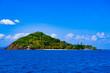 canvas print picture - Insel im Wasser