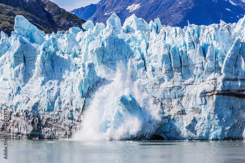 Obraz na płótnie Alaska. Margerie glacier in the Glacier Bay National Park.