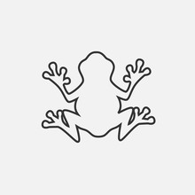 Frog Icon Vector Illustration ...