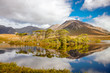Derryclare Lough and the reflection of the twelve pines