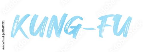 Fototapeta web Sport Label Kung-Fu