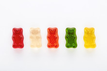 Selection Of Colorful Gummy Be...