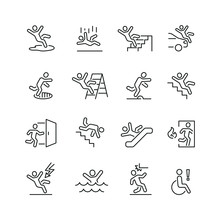 Stick Figure Man Related Icons...