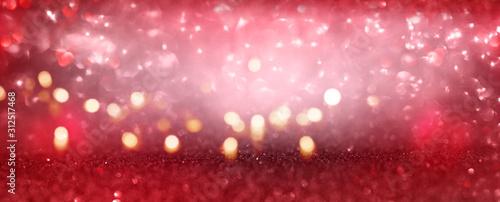 Obraz Red valentines day background - fototapety do salonu