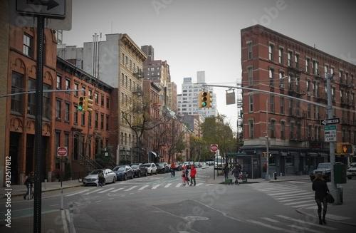 Fototapeta Typical New York buildings obraz
