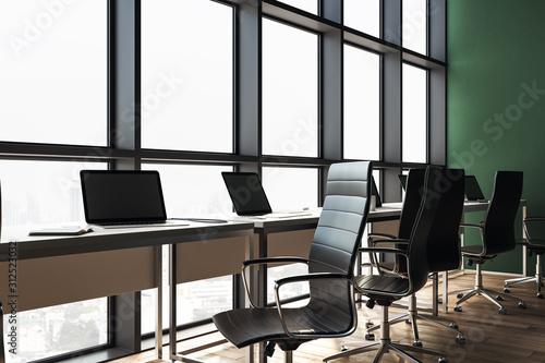 Fototapety, obrazy: Modern coworking office