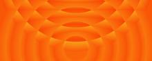 Gradient Orange Circular Logo Template Background
