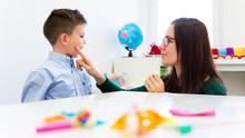 Children Speech Therapy Concep...