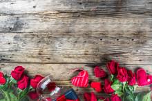 Valentines Day Flatlay