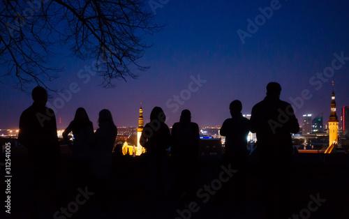 April 20, 2018, Tallinn, Estonia Fototapet