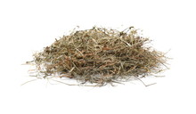 Hay Pile Isolated On White Background