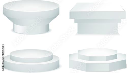 Photo pedestal set
