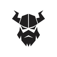 Viking Logo Vector Graphic Abstract Template