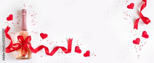 Fototapeta Valentine's Day background obraz