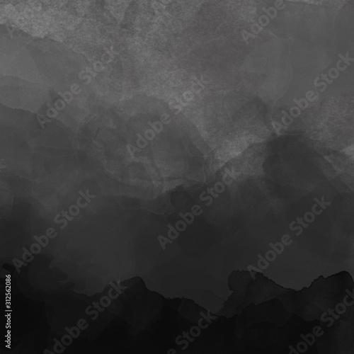 Textura de Aquarela Nude e Carvão Canvas Print