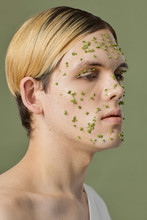 Young Man With Skincare Mask