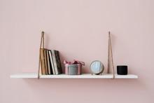 Stylish Things On Hanging Shelf
