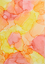 Colorful Abstract Alcohol Ink ...